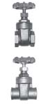 Heavy Pattern Forged Brass Gate Valve - Hard Seat