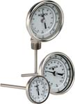 Bimetal, Industrial Type Dial Indicating Thermometers