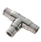 164PLS Union Tee - Inch Tube