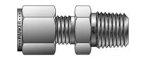 BSP Taper Male Connector - For fractional tube