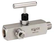 Multiport, Soft Seat Needle Valves - 300 Series - NOSHOK