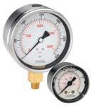 ABS and Stainless Steel Liquid Filled Gauges - 900 Series - Noshok