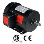 WORLDWIDE Fractional HP Motors-General Purpose-TEFC Enclosure-Rigid Base-Three-Phase-208-230/460 Volt