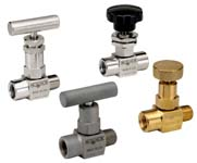 Mini, Hard Seat Needle Valves - 100 Series - NOSHOK