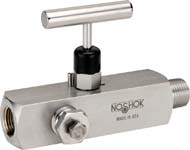 Multiport, Hard Seat Needle Valves - NOSHOK