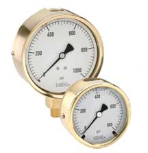 Dial Indicating Pressure Gauge - 300 Series - Noshok