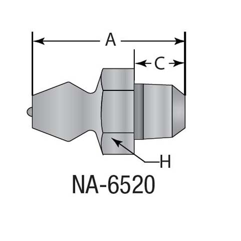na-6520 grease zerk fitting