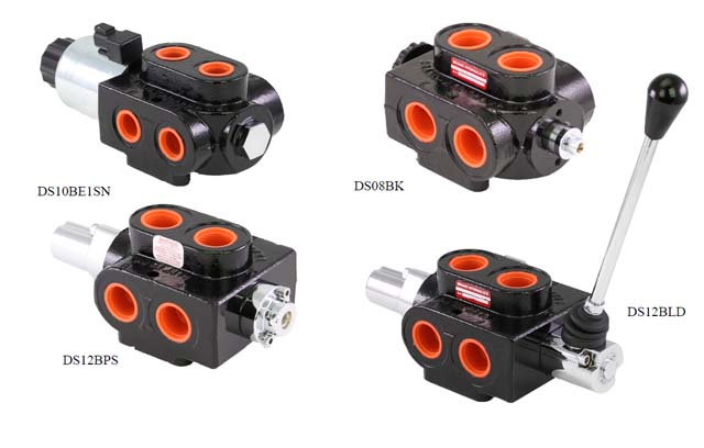 12v Hydraulic Selector Valve : Ds series double selector valve hydradyne llc