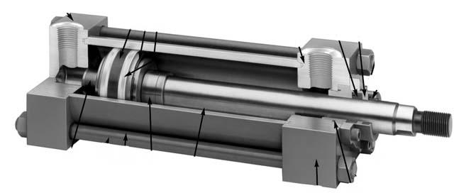 Parker Miller H Series Hydraulic Cylinders   Hydradyne LLC