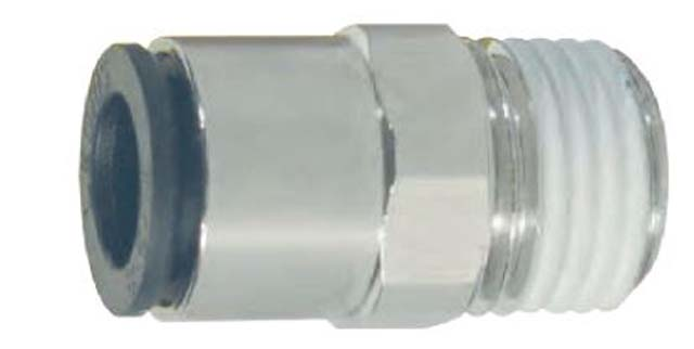 Dixon 31756014 Brass Legris Push-in Male Connector 3//8 Tube to 1//4 Male NPT