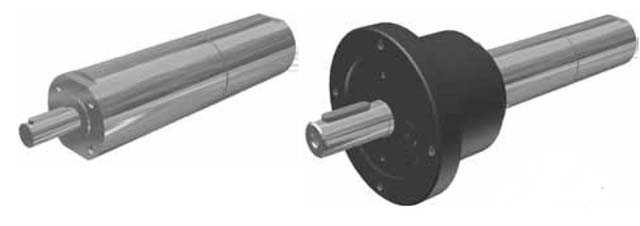Data for reversible air motor with keyed shaft, P1V-S020A series