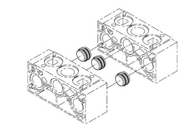 ps2819p - iem stackable manifolds