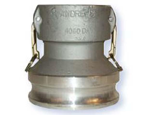 2 Plug x 3 NPT Female Dixon 2030-A-AL Aluminum Type A Cam and Groove Reducing Hose Fitting
