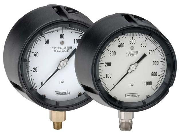 Dial Indicating Pressure Gauges - 600/700 Series - Noshok