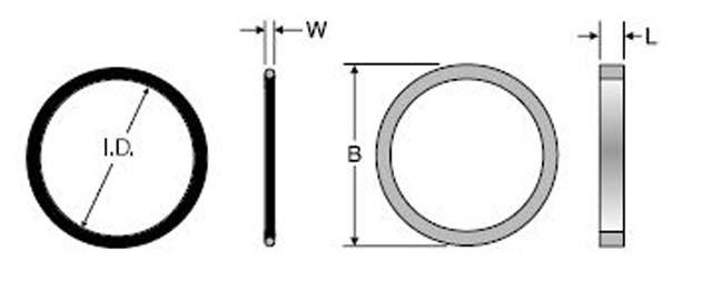 Parker 2-217 FKM | Parker BSPP O-Ring & Retaining Ring | Hydradyne LLC