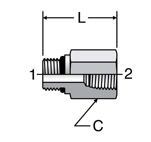 Pipe Fittings and Port Adapters | Hydradyne LLC