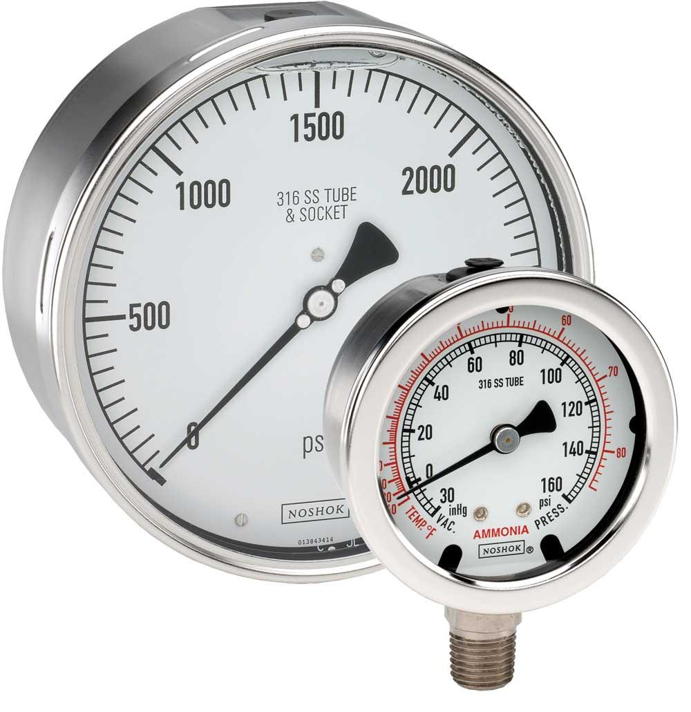 25 400 1500 Psi Dial Indicating Pressure Gauge 400 500